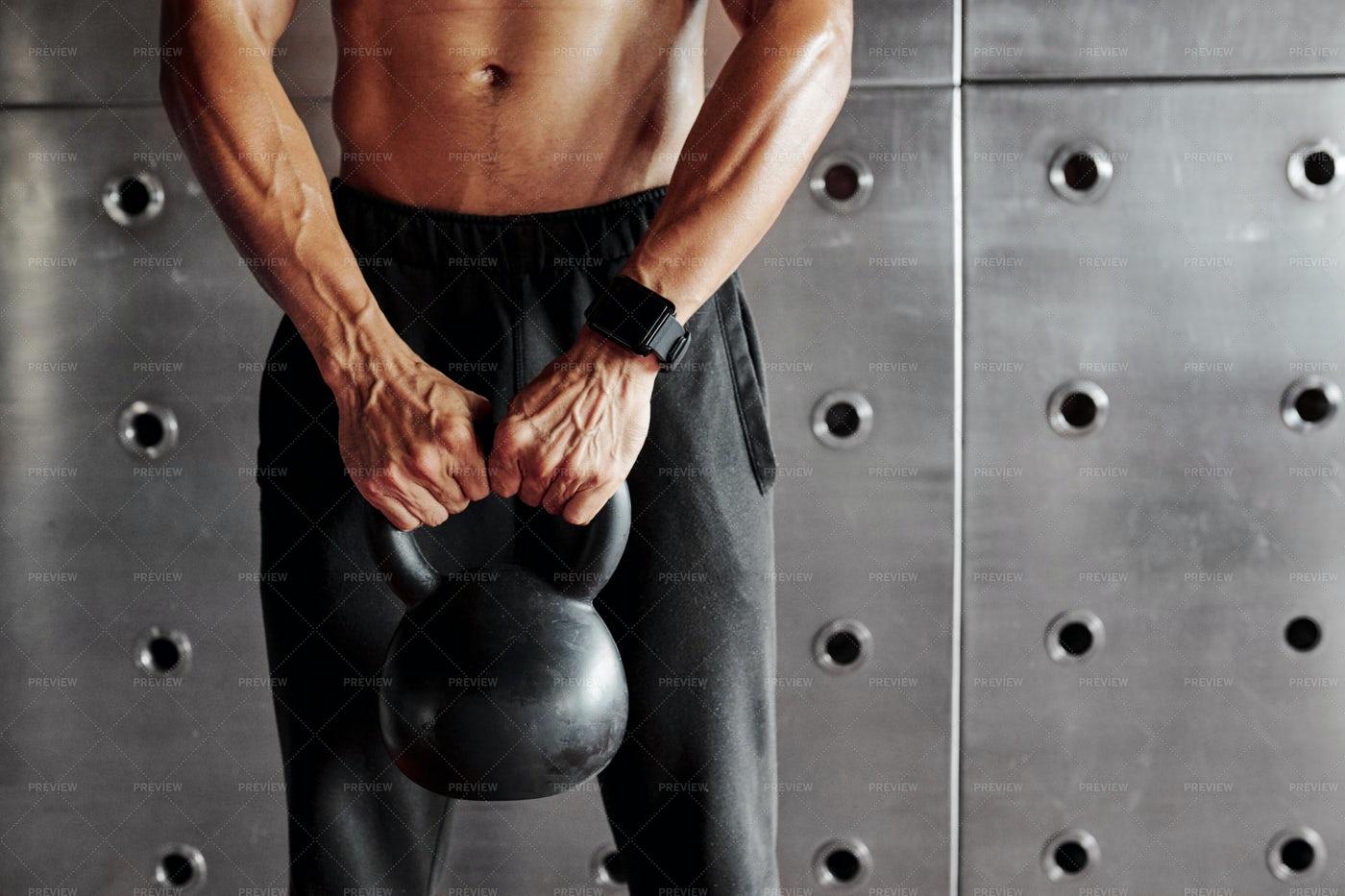 Man Lifting Weight: Stock Photos