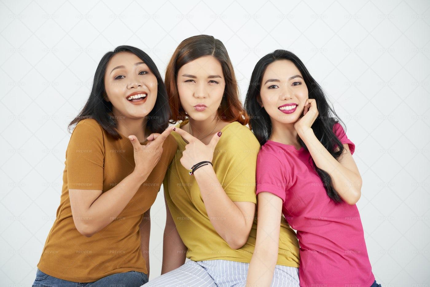 Female Friendship: Stock Photos