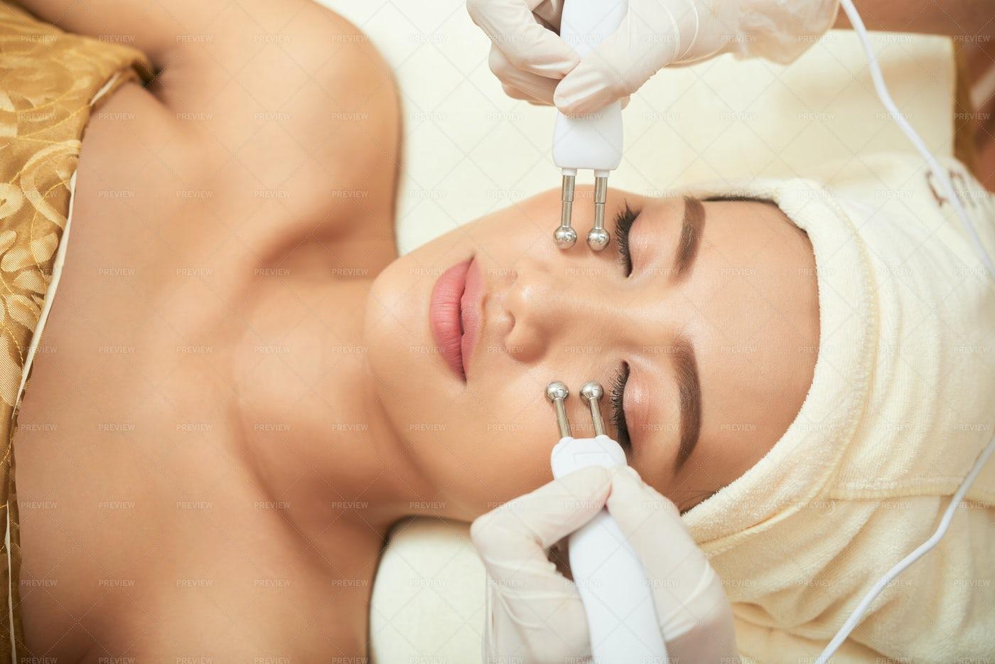 Beauty Spa Procedure: Stock Photos