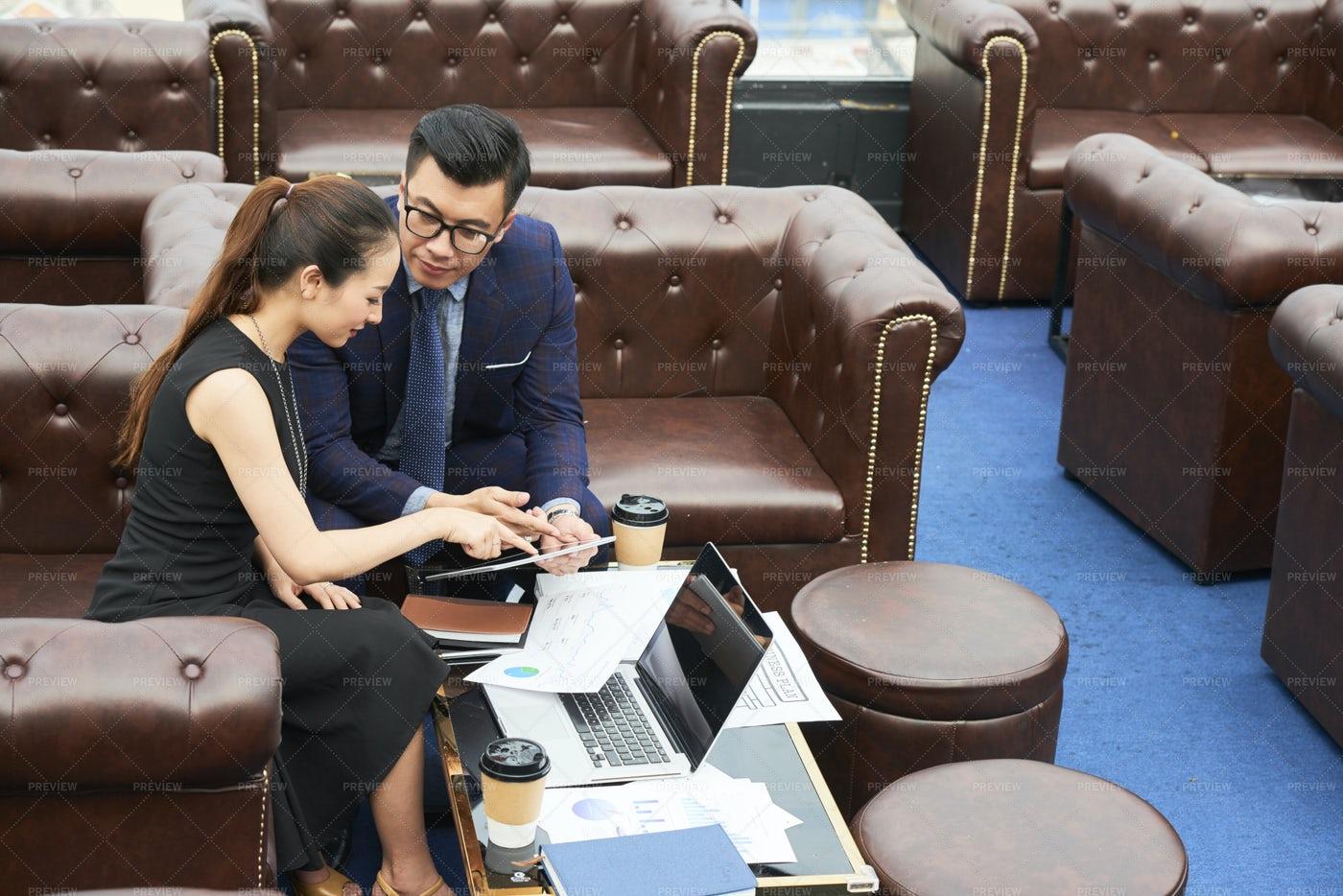 Business Executives Planning Work: Stock Photos