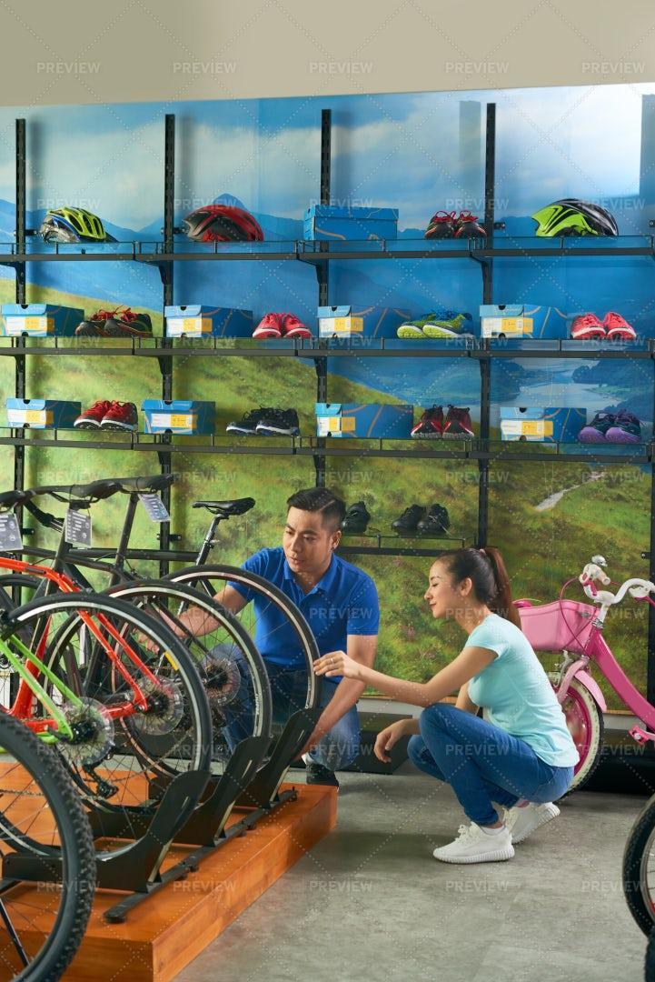 Salesman Helping Customer: Stock Photos