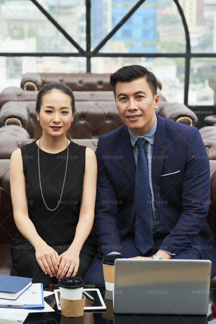 Meeting Of Business Team: Stock Photos