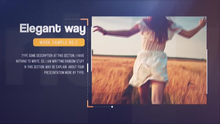Minimal Portfolio: After Effects Templates