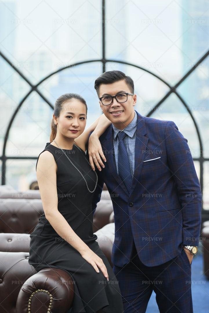 Successful Business Couple: Stock Photos
