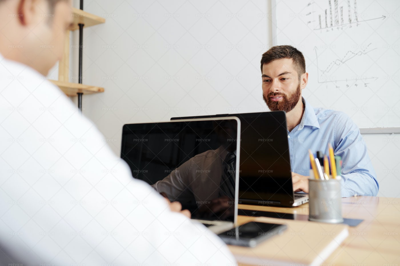 Business People Working On Laptop: Stock Photos