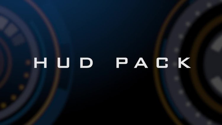HUD Pack: Stock Motion Graphics