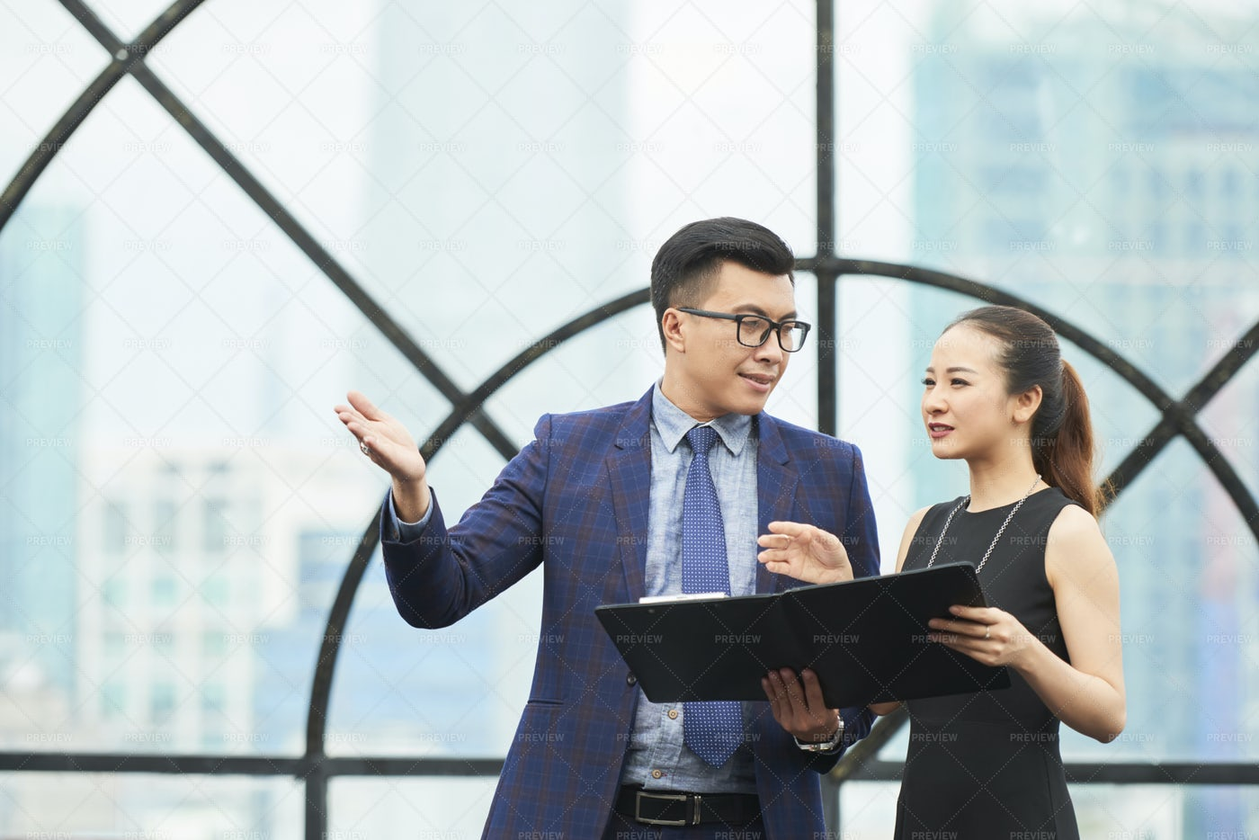 Ambitious Business People: Stock Photos