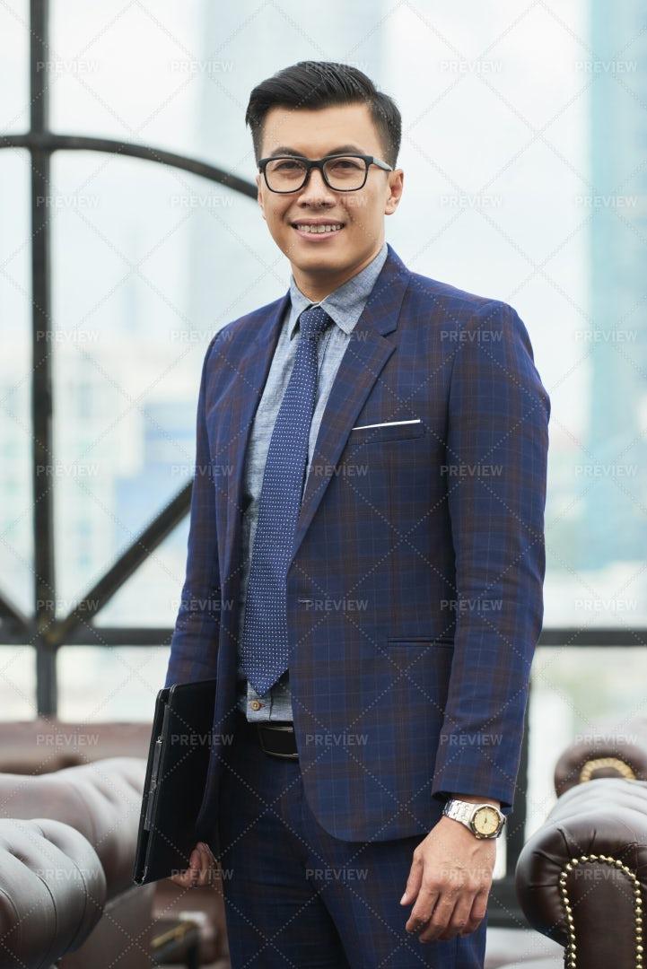 Handsome Asian Entrepreneur: Stock Photos
