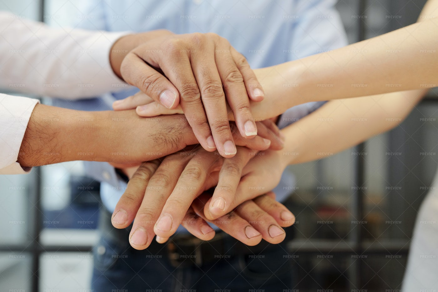 Support Each Other In Business: Stock Photos
