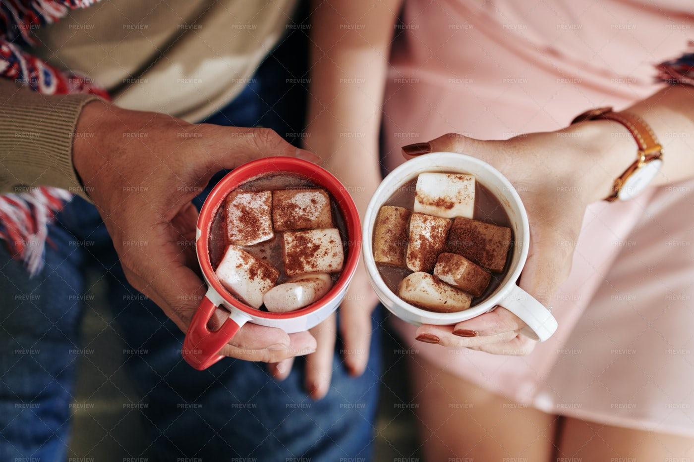 Delicious Hot Chocolate: Stock Photos