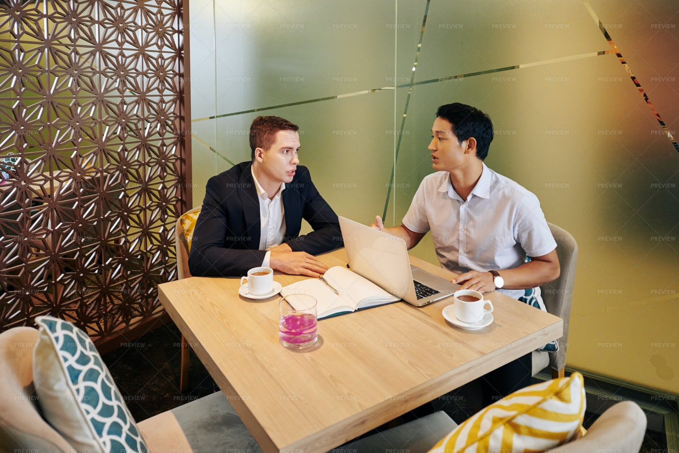 Business Executives In Meeting Room: Stock Photos
