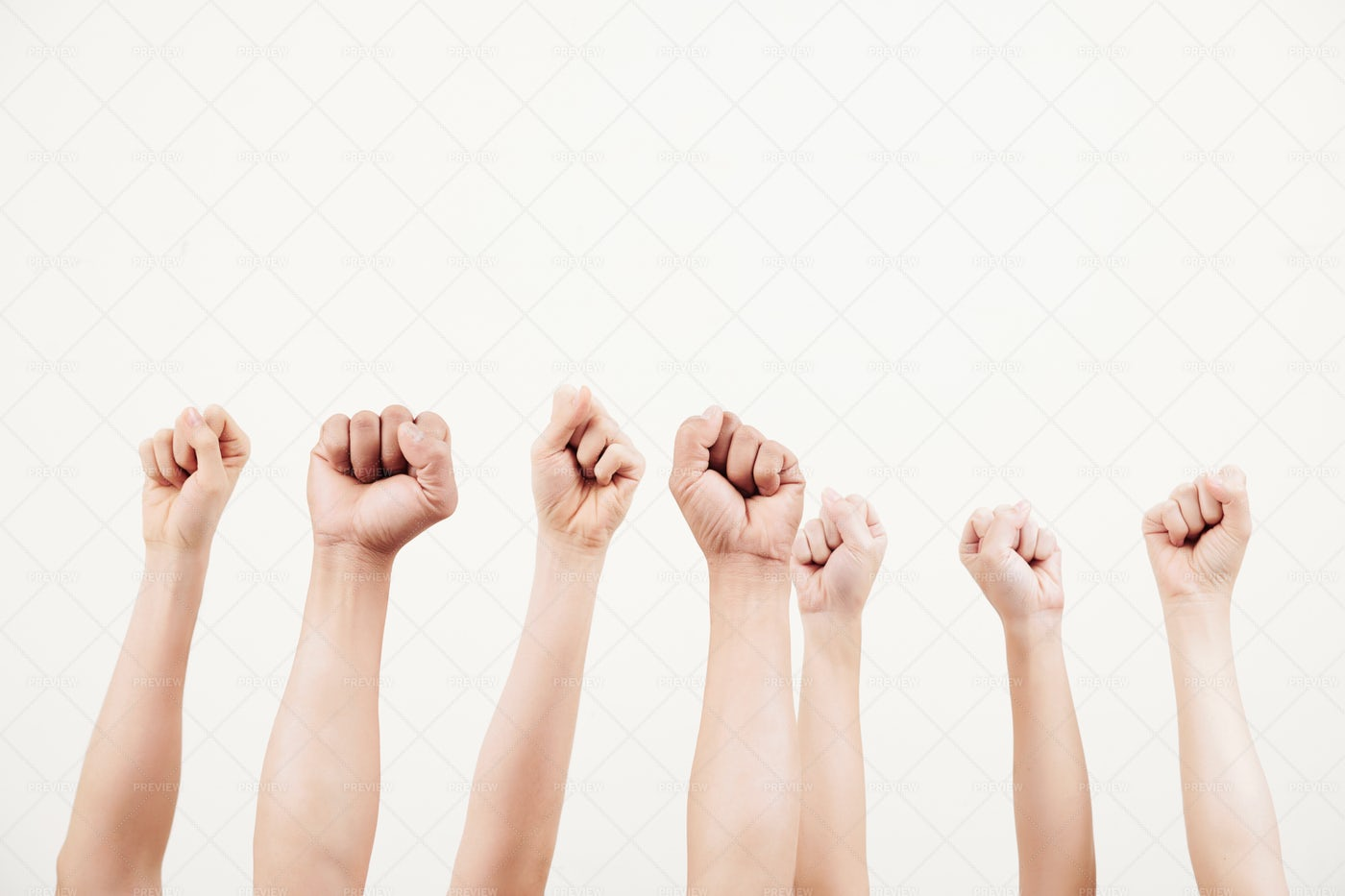 Business People Showing Power: Stock Photos
