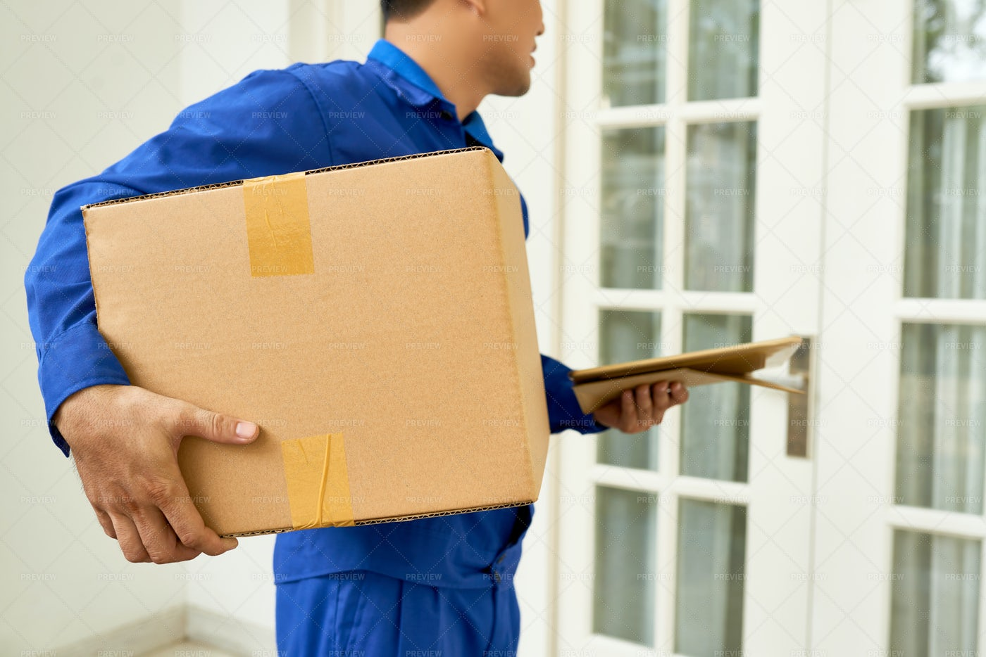 Next Day Delivery Service: Stock Photos