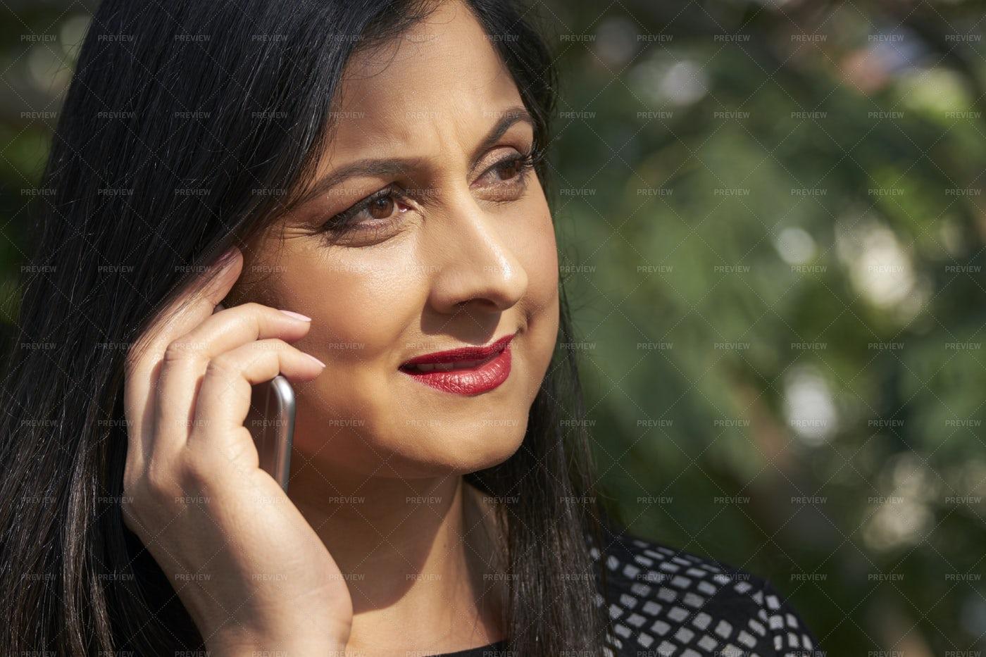Calling Woman: Stock Photos
