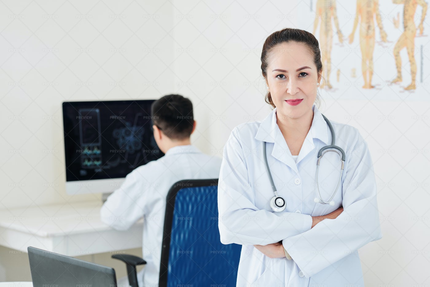 Mature Female Doctor: Stock Photos