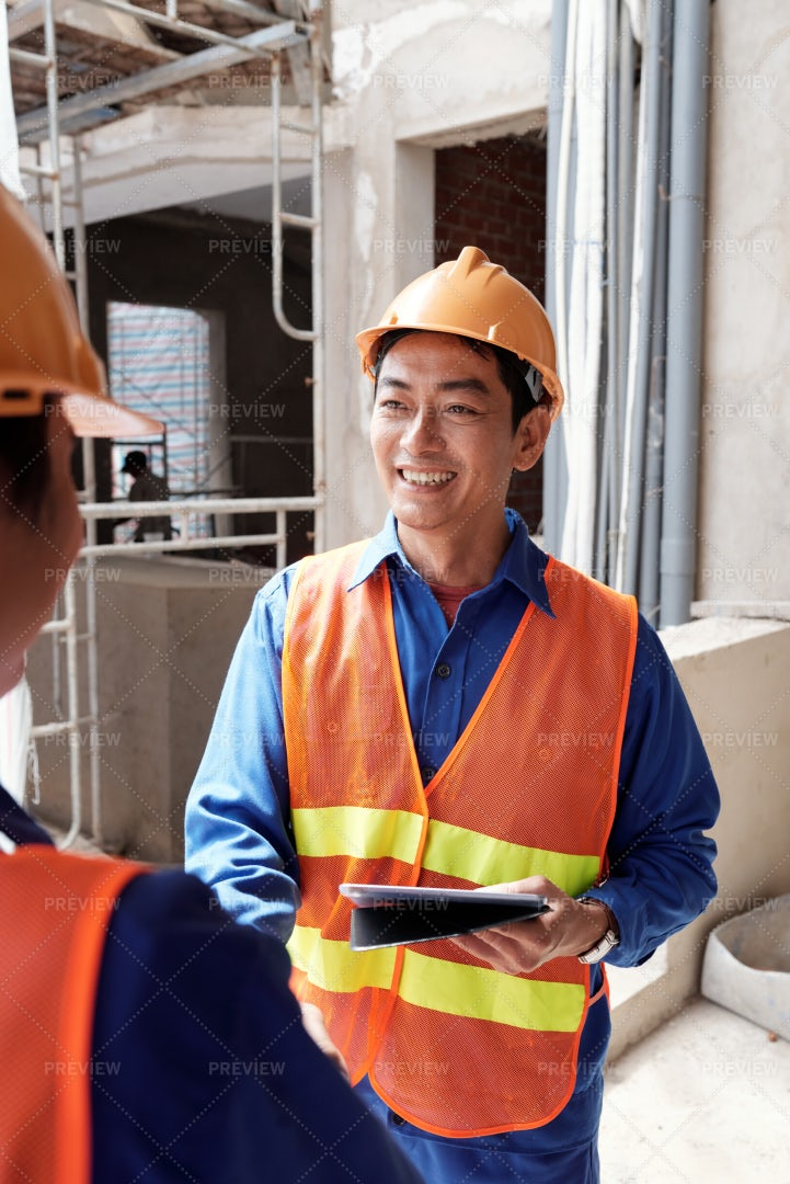 Welcome To Construction Site: Stock Photos
