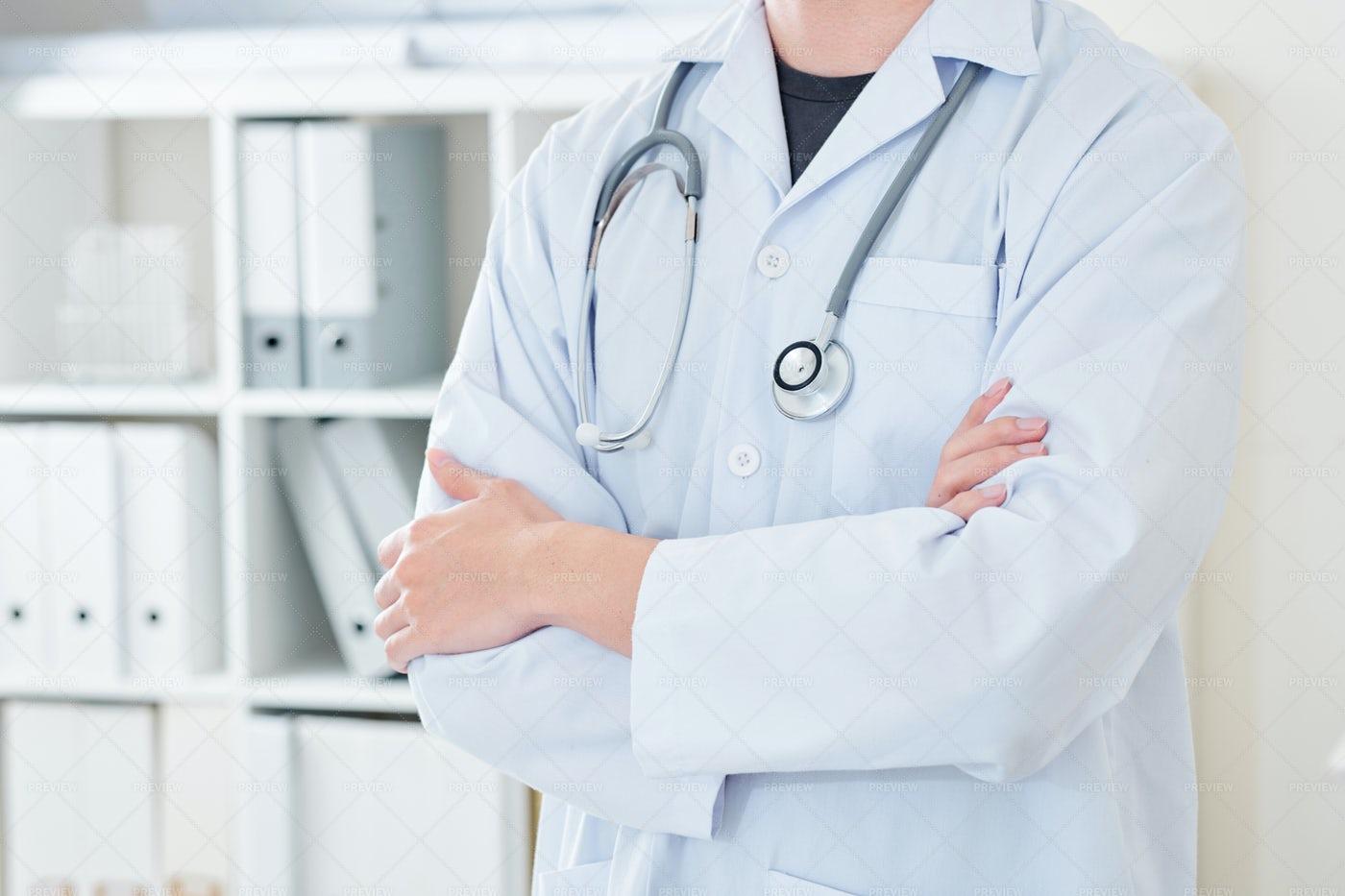 Confident Experienced Doctor: Stock Photos