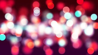 Red Bokeh: Motion Graphics