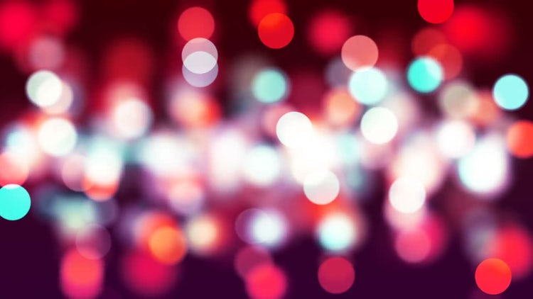 Red Bokeh: Stock Motion Graphics