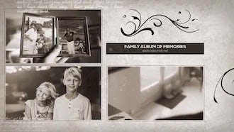 Family Album Of Memories: After Effects Templates