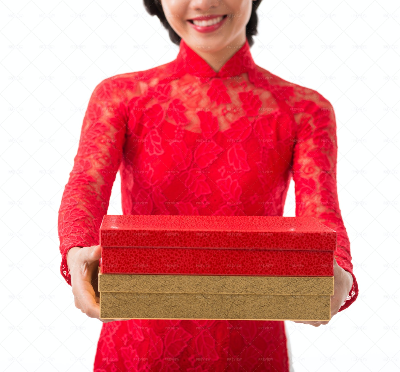 Gifts For Tet Celebration: Stock Photos