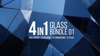 Glass Bundle: Premiere Pro Templates