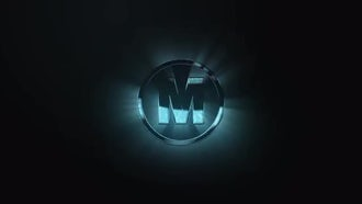 Dark Super Hero Logo: After Effects Templates
