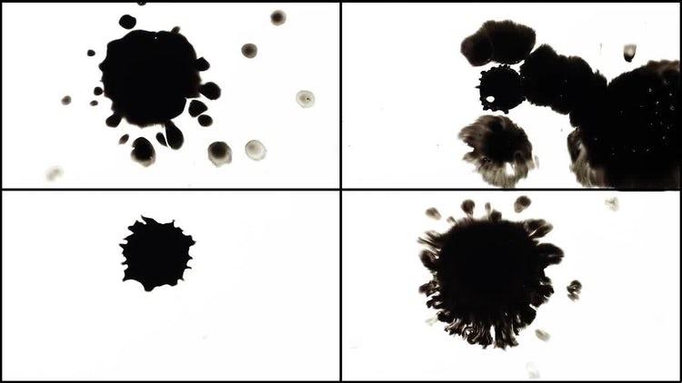 Ink Bleeds Pack: Stock Video