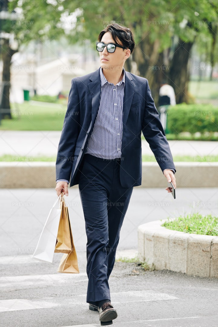 Confident Stylish Man: Stock Photos