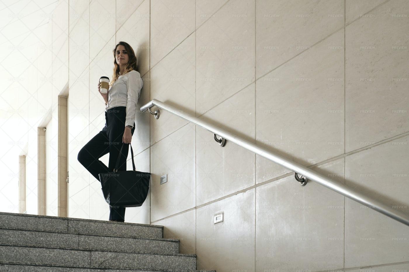 Positive Business Lady: Stock Photos