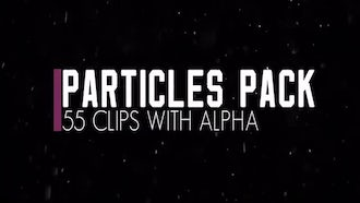Particles Pack. Snow. Dust.: Stock Video