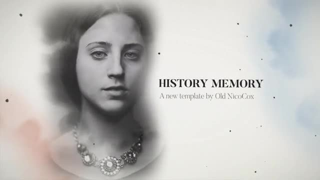 History Memory: After Effects Templates
