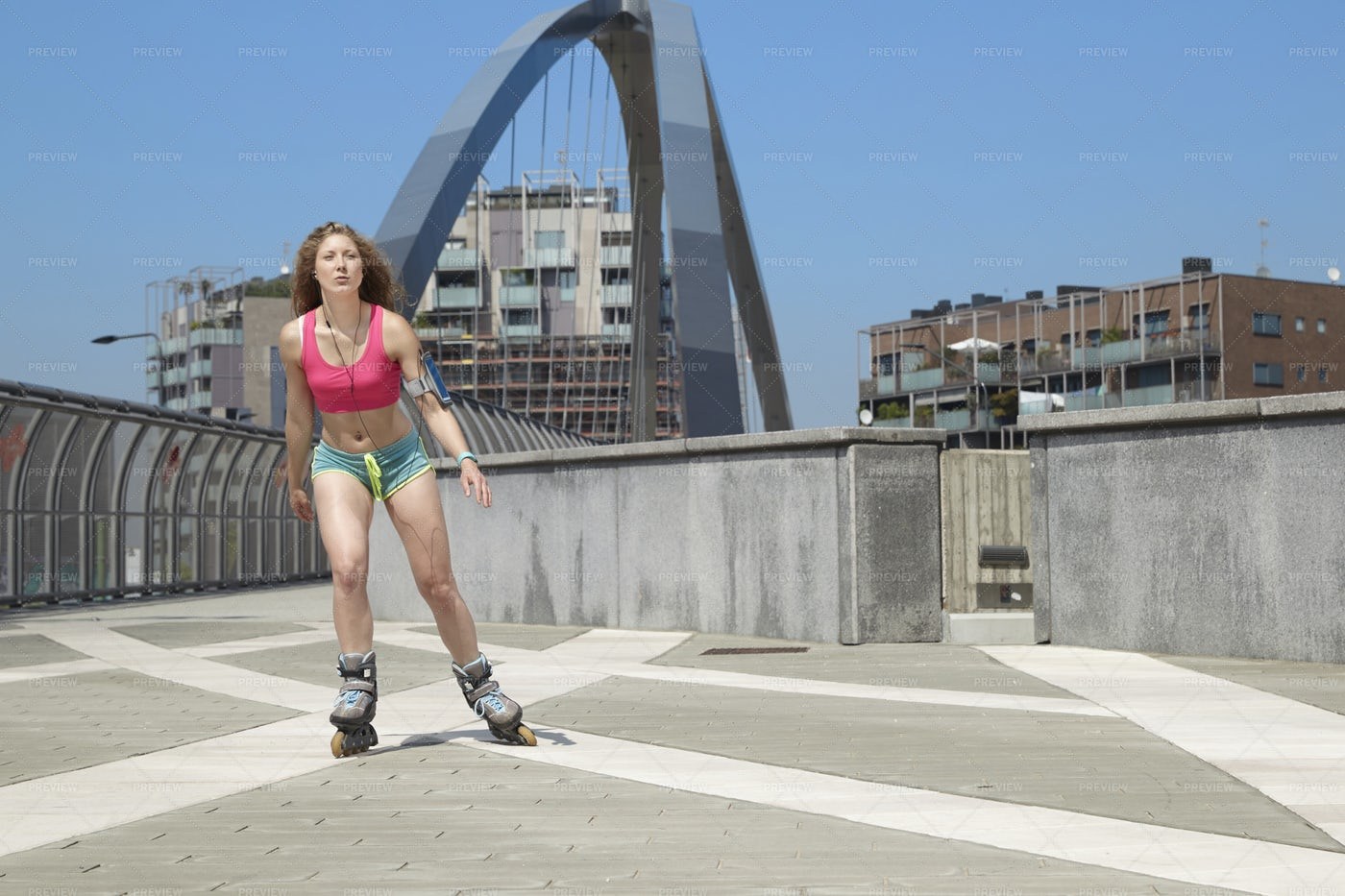 City Skating: Stock Photos