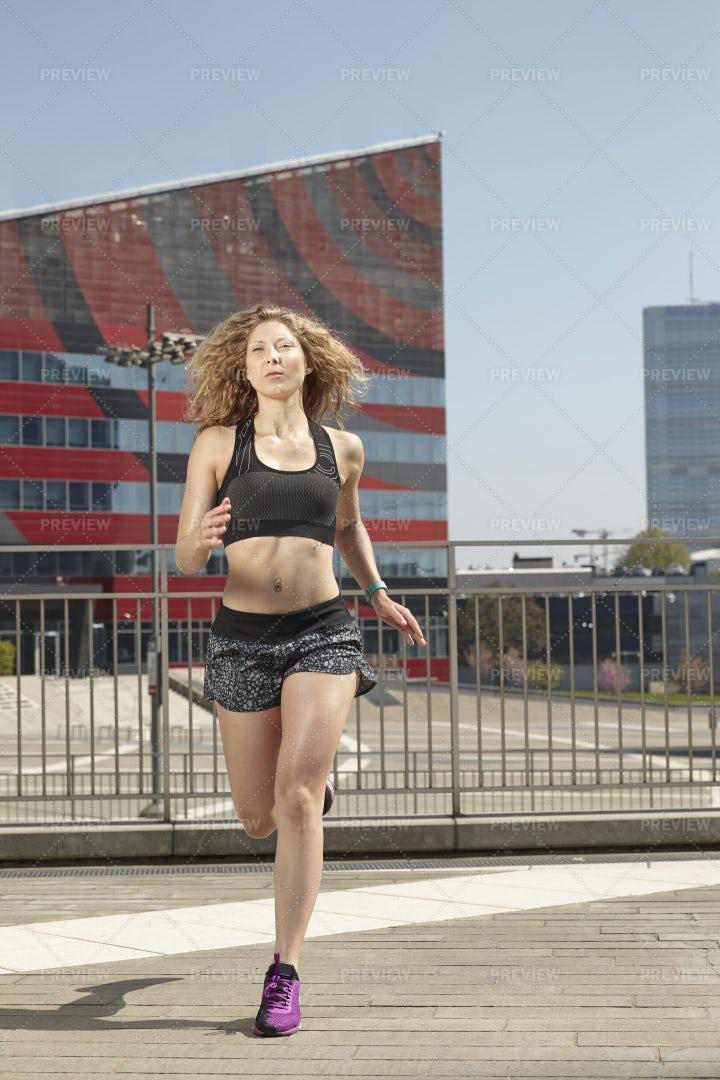 City Jogging: Stock Photos