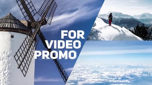 Energetic Promo Opener: After Effects Templates