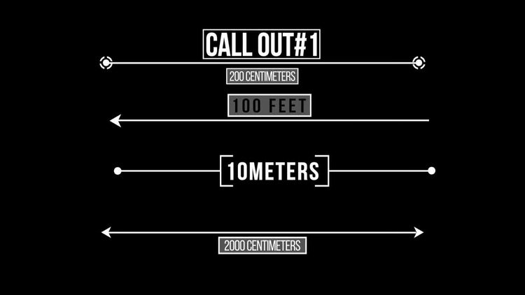 Measurement Titles: Motion Graphics Templates