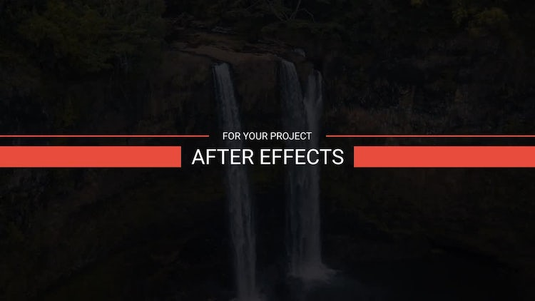 Brand New Titles: After Effects Templates