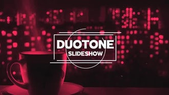Duotone Slideshow: After Effects Templates
