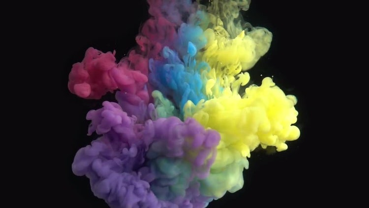 Paint In Water: Stock Video