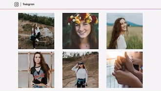 Slideshow Instagram: After Effects Templates