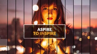 Inspire Lines - Media Slideshow: After Effects Templates