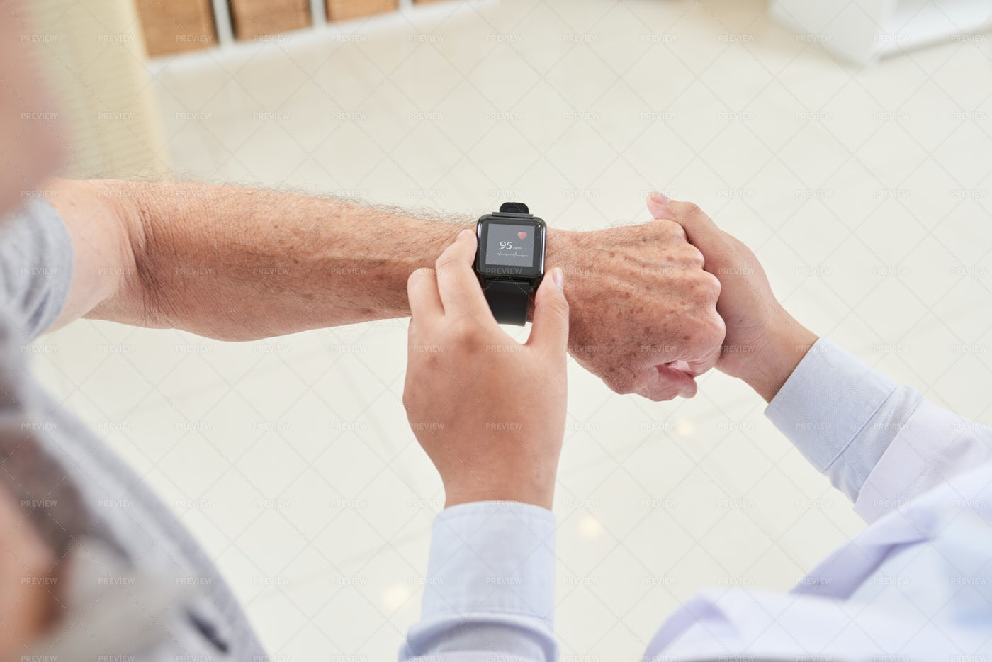 Setting Personal Health Application: Stock Photos