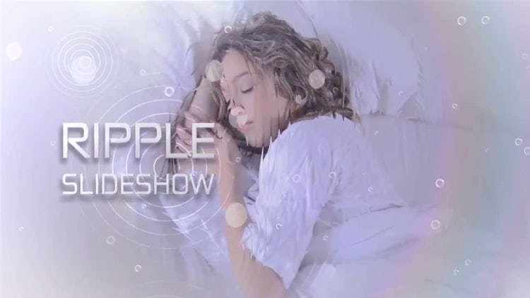 Slideshow Ripple: After Effects Templates