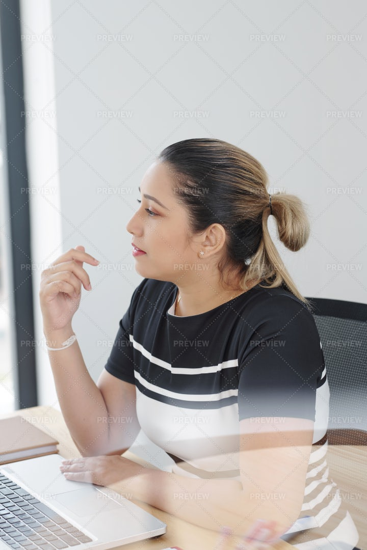 Businesswoman At Office: Stock Photos