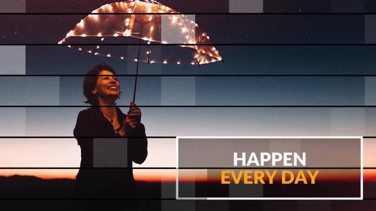Inspire Lines Slideshow: Premiere Pro Templates