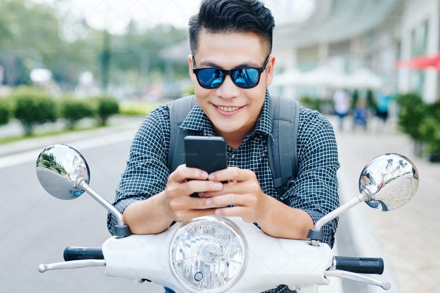 Young Man Playing Addictive Game: Stock Photos