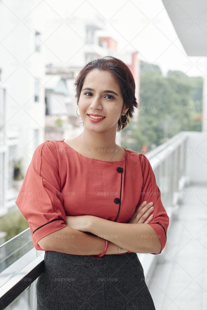 Young Beautiful Indian Woman: Stock Photos