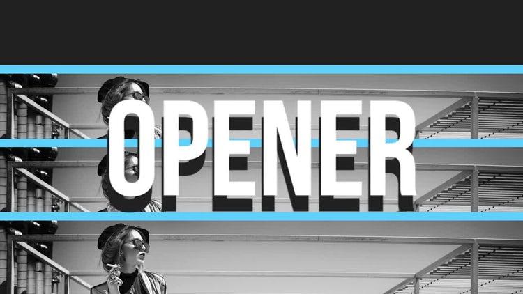 Fashion Stomp Opener: Premiere Pro Templates