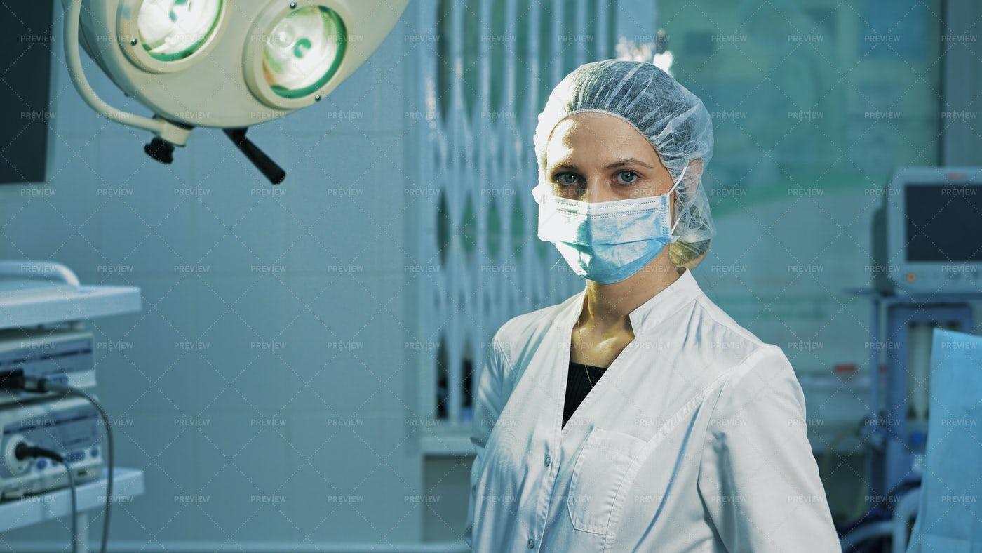 Surgeon After Operation: Stock Photos