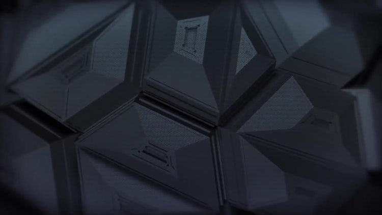 Dark Polygonal Backgrounds: Stock Motion Graphics